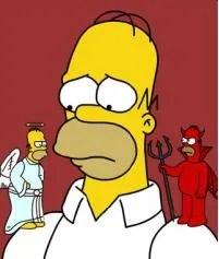 Image result for angel devil shoulder