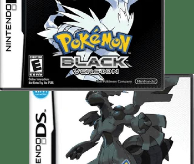 Video Game Pokemon Black And White