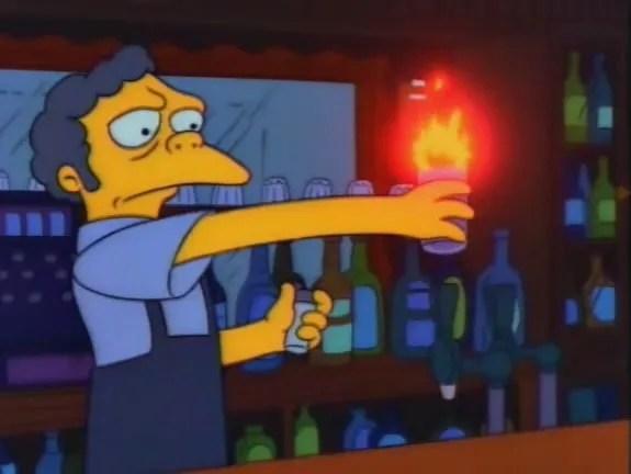 The Simpsons S 3 E 10 Flaming Moes / Recap - TV Tropes
