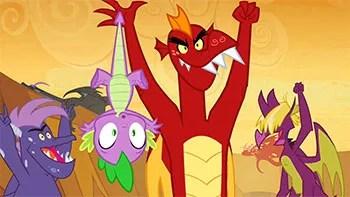 My Little Pony Friendship Is Magic S2 E21 Dragon Quest Recap Tv Tropes
