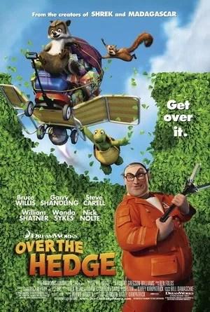 Risultati immagini per OVER THE HEDGE ( 2006 ) GIF POSTER