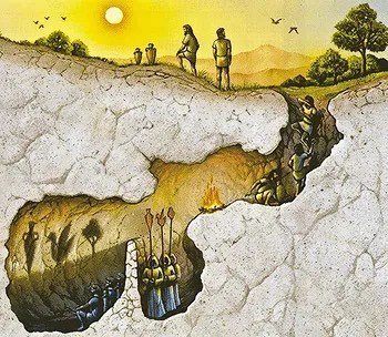 Image result for tv is plato cave
