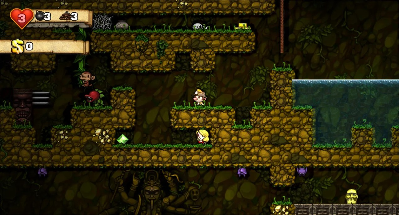 Spelunky Video Game TV Tropes