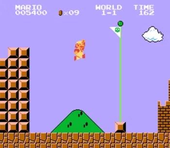 SuperMario game screenshot