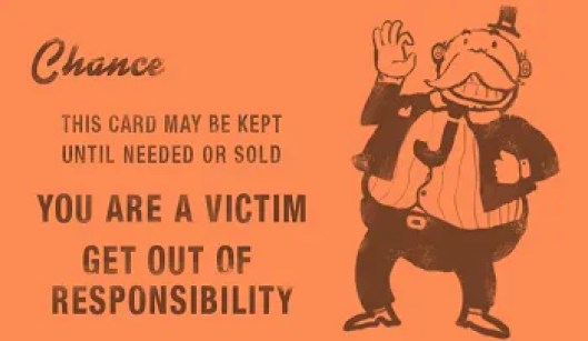 Image result for playing the victim card