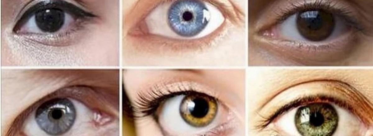 black colored eyes
