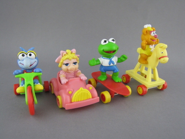 30 Happy Meal Toys That Every  80s and  90s McKid Wanted   22 Words muppetbabies