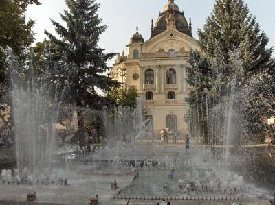 Kosice-musikbrunnen