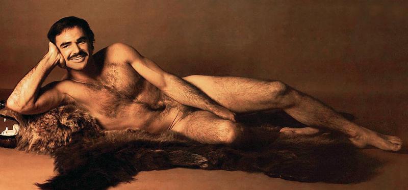 Das Foto gilt als das erste Ausklappfoto eines nackten Mannes.
