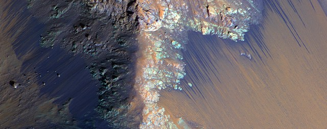 Recurring Slope Lineae in Coprates Chasma