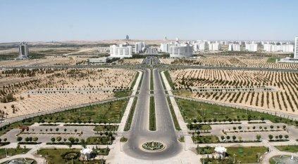 Aussicht Ashgabat