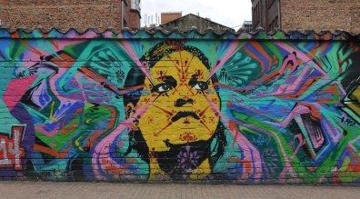 Streetart Bogota Bastardilla