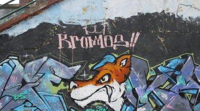 Streetart Bogota Kromos
