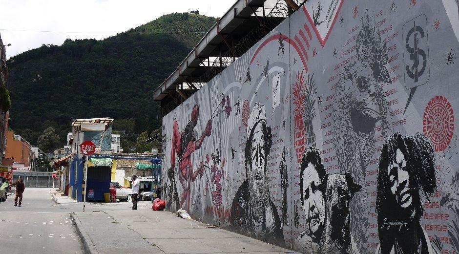 Streetart Bogota Monserrate