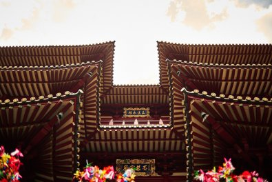 Singapore Chinatown Buddha Tooth Relic Temple Pagode