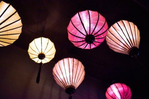 Singapore Lau Pa Sat Lanterns