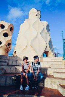 Casa Milà von Gaudí