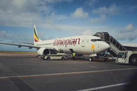 Ethiopian Airlines Flughafen