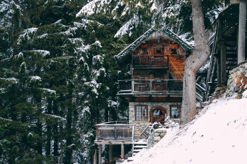Berghütte Frankreich