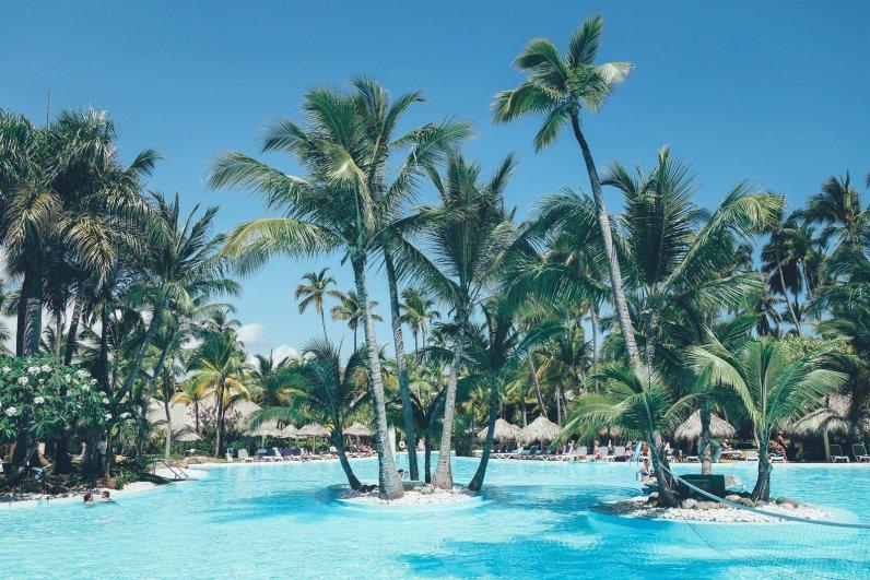 Pool im Meliá Caribe Tropical Resort