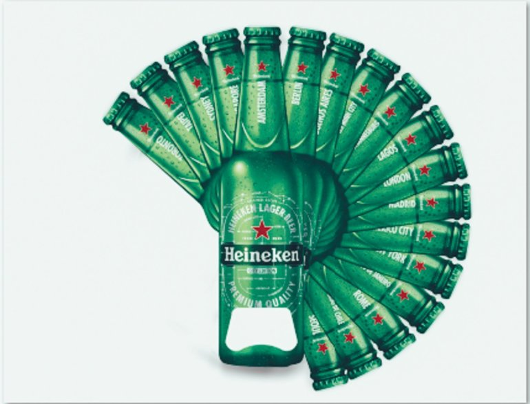 Shape your City Heineken
