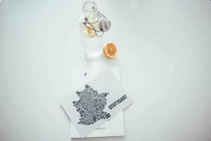 Office-Hack: Glasflaschen