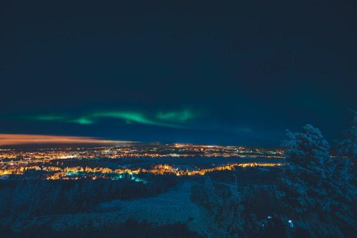 Polarlicht Finnland