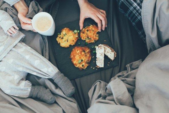 Frühstücks Potato Pancakes