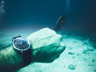 Dive Time mit der Nomos Ahoi Datum Atlantik