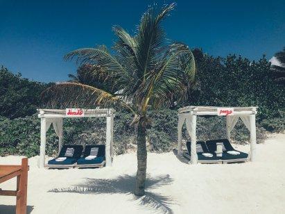 Was ein Strandbett!