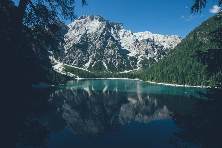 Pragser Wildsee und Seekofel