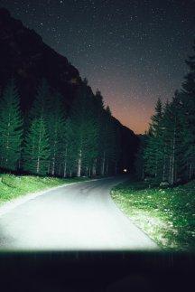 Straße zur Plätzwiese, Sternenhimmel
