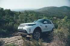 Land Rover Discovery wo er sich am wohlsten fühlt