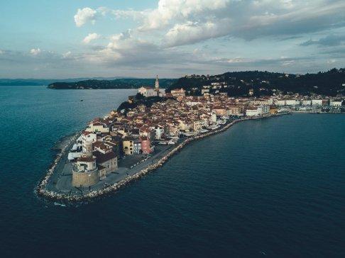 Altstadt Piran, Slowenien
