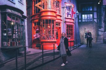 Hogwarts im Schnee