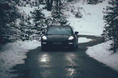 Wintersport Bucketlist Porsche Panamera Sport Turismo Winter Roadtrip