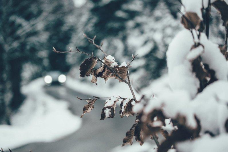 Winterlandschaft in Österreich