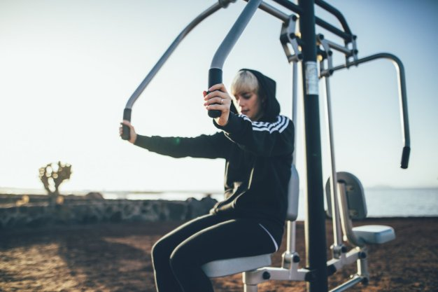 Outdoor Gym Playa Blanca aufLanzarote