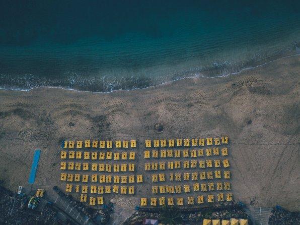 Von oben: Playa Blanca Lanzarote