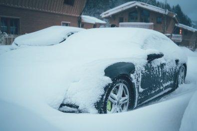 45 Minuten Porsche freischaufeln Fitnessprogramm