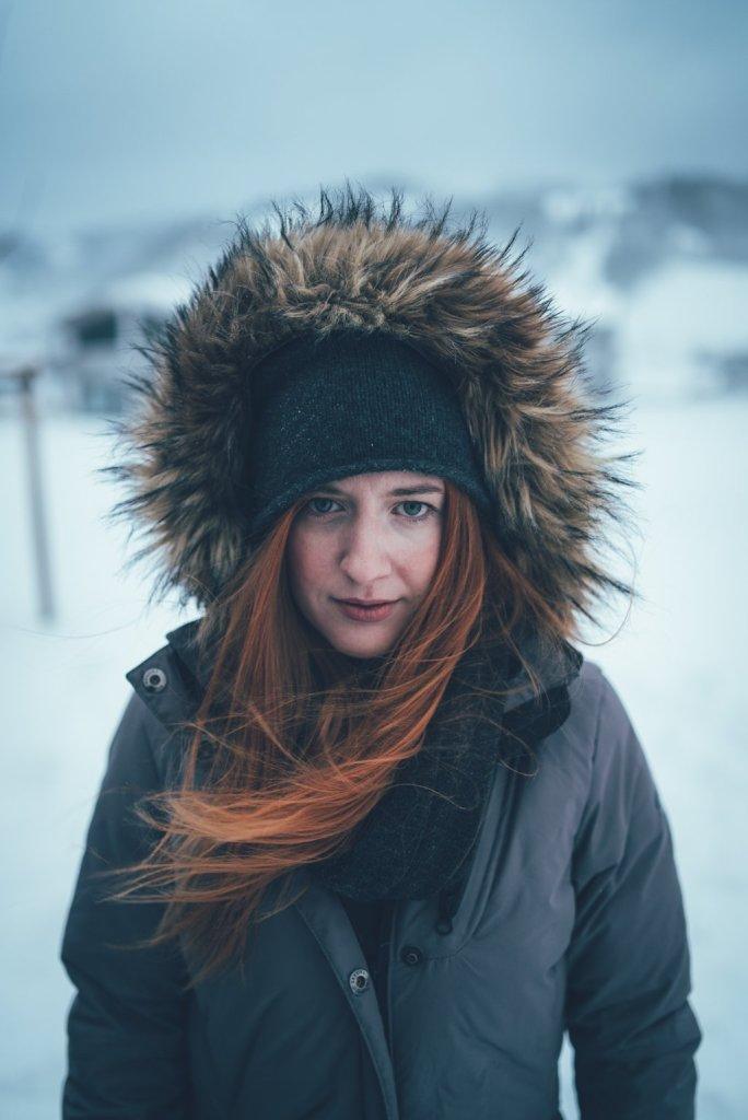 Livia ist bereit für den Schneesturm