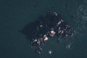 Inselidyll vor der Küste Penangs