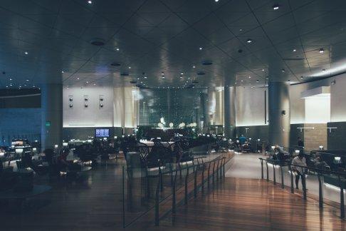 Die Qatar Business Lounge in Doha