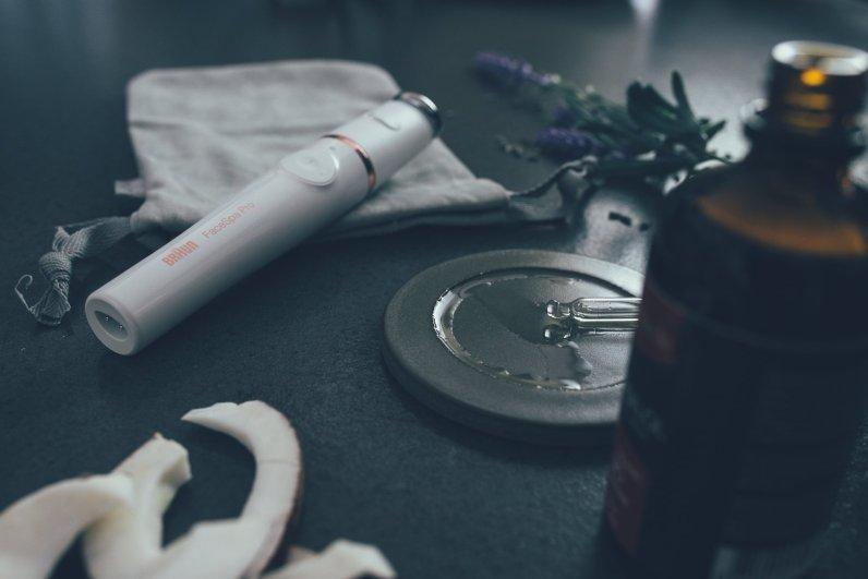 Lavendelöl & Mandelöl: Mias Beauty-Booster mit dem Braun FaceSpa