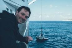Nino freut sich auf das U-Boot