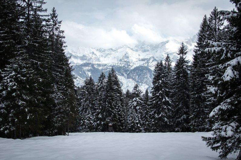 Blick vom Hausberg Garmisch