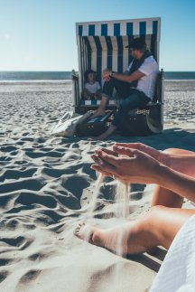 Tag am Meer auf Sylt