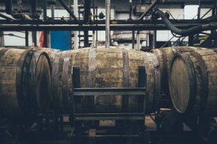 Heaven Hill Destillerie Barrel Leerung