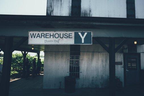 Warehouse Y der Heaven Hill Destillerie