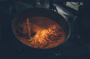 Bernheim Destillerie. Maische
